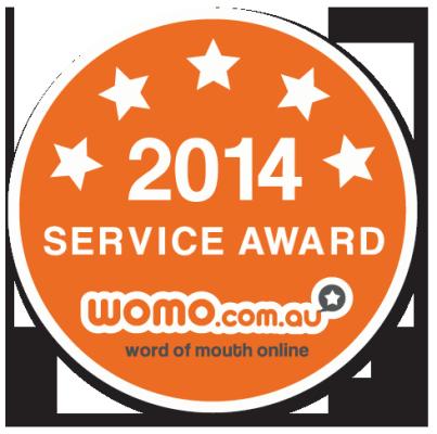 2014 WOMO Service Award